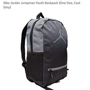 Nike Jordan Jumpman Youth Backpack (Cool Grey)